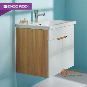 德国安住 现代简约多层实木洗手盆浴室镜柜套餐组合