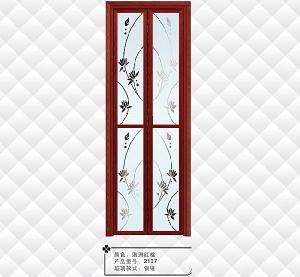 供应铝合金门窗,豪华无轨小折叠门