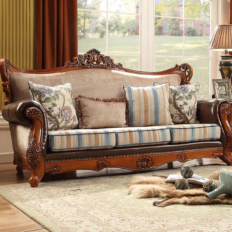 艾菲尔美式布艺沙发