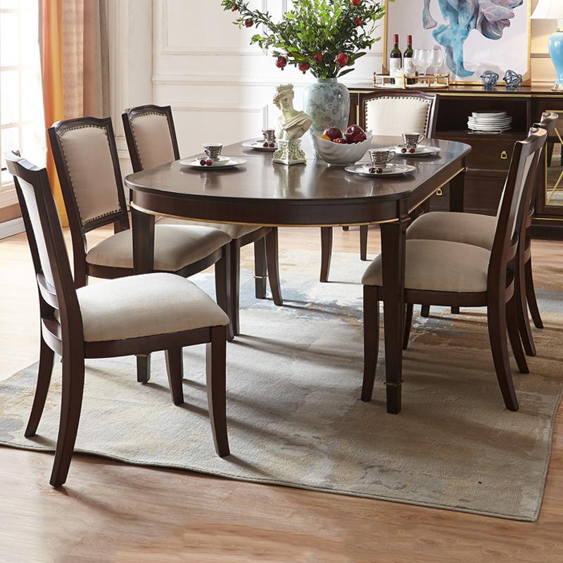 六人位餐桌椅